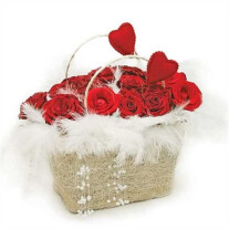Love basket composition